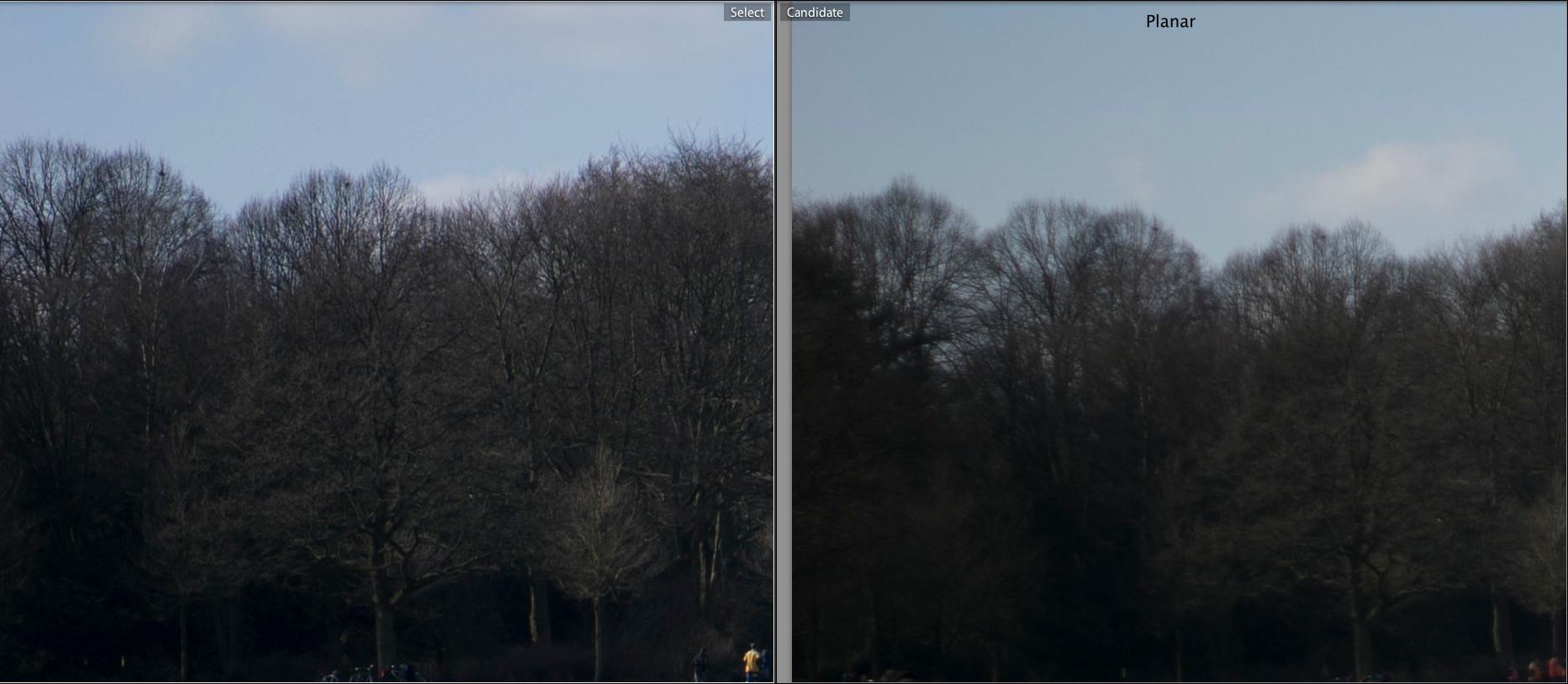 Zeiss Planar T* 2/50 ZM vs  Sony FE 55mm F1 8 ZA Carl Zeiss Sonnar T