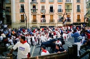 Nikon Point-and-shoot 100 ASA (no name) , Jul 2001, Pamplona (Spain)